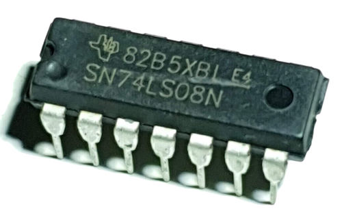 TTL Quadruple 2-Input Positive AND Gates SN74LS08N Through Hole