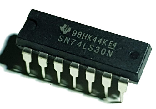 TTL 8 Input Positive NAND Gate SN74LS30N Through Hole