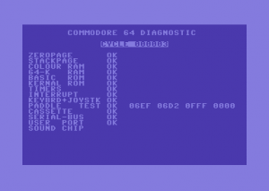 C64 Diagnostic Box 324528-02